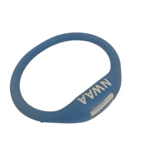 Image of blue NWAA digital sports watch.